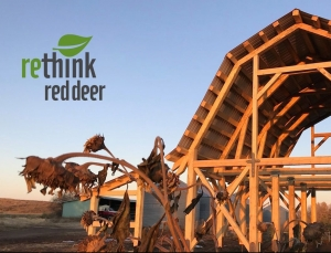 picture of raised timberframe barn